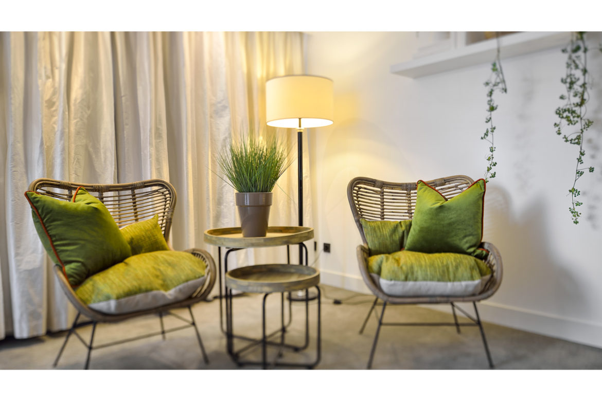 hotel photography   Hotel Vught   Garden suite   living